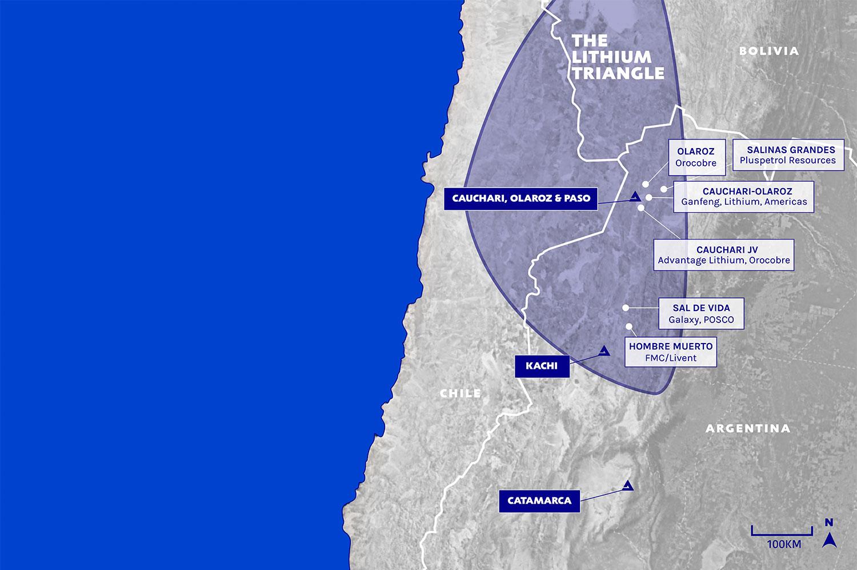 Lake - Project Map